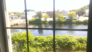 View from my living room window