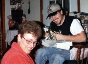 jay & mom