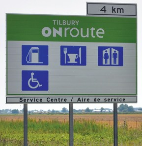 onroute-signs-gas-restaurant-restrooms-washrooms-handicapped-access-on-400-401-highways-ontario-canada1